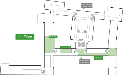 conference venue 1st floor